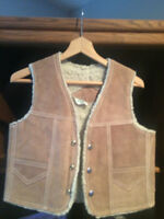 Child's leather vests.