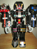 ***POWER RANGERS MEGAZORD SUPERTRAIN 99%COMPLETE!!!***