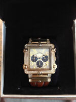 *NEW: Gold Just Bling Men's Watch