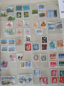 "Used Postage Stamps Lot "" G "" Cambridge Kitchener Area image 2"