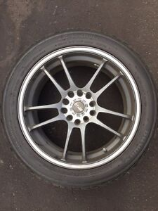 MSR rims with tires