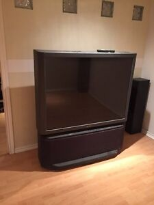 "53"" Sony TV - rear projection - give away!!"