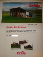 BUNGALO $100 GIFT CERTFICATE SELLING FOR $50 FIRM