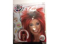 Smiffy - Back to the 80s - red and black wig