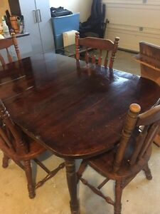Cherry Oak - dinning room table Kitchener / Waterloo Kitchener Area image 2