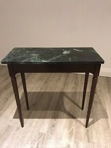 The Bombay Company Marble Top Table