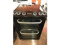 black 60cm electrolux cooker
