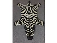 Childrens Zebra Rug Mat NEW!!