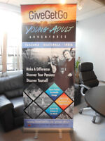 X Roll Up Banner,Event Backdrops,Flags,Real Estate Sign Printing