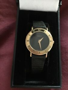 Authentic 18kt gold plated Women's Gucci watch