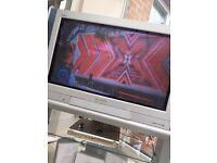 Panasonic 32 inch flat screen TV with surround sound