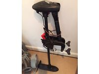 Intex trolling motor electric used 4 times good condition