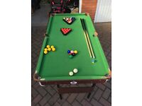 Mini Snooker or Pool Table