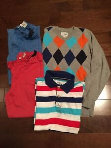 Boys 7/8 - 2 Pants, Sweater and Top  Set - $12