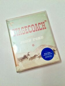 STAGECOACH CRITERION COLLECTION BLU-RAY (BRAND NEW/SEALED!)