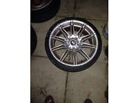 BMW MV4 ALLOYS 19s