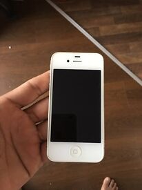 iPhone 4s 8gb locked to 02 network. Excellent condition