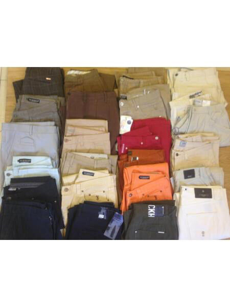 Wholesale Job Lot starter Ebayers Car boot resale Stock Vintage & Refurbished All brands Trousers