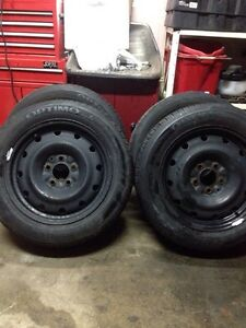 Four (4) hankook 205/55/16
