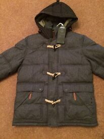 Next Men's Winter Duffle Jacket Brand New with Tags Medium