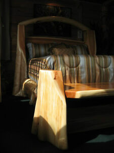 hand crafted timber or log beds,locally based Comox / Courtenay / Cumberland Comox Valley Area image 10
