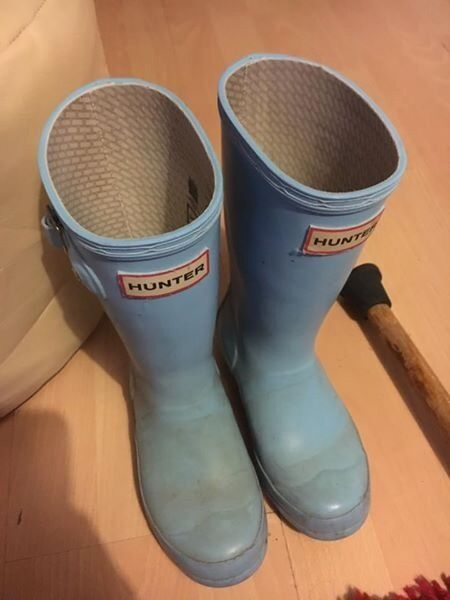 Real Hunter wellies- Kids size 11