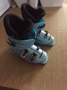 Kid's Downhill Lange Ski Boots (size 22 or4)