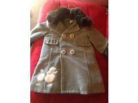 Designer dress ,coat & matching bag