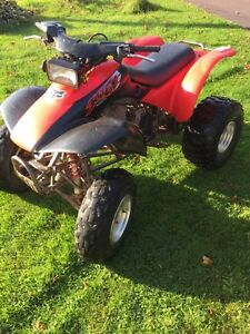 HONDA 300 EX FOR TRADE FOR SLED