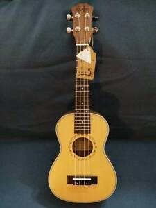Concert Ukulele Spruce Top Brand New Free Delivery Melbourne CBD Melbourne City Preview