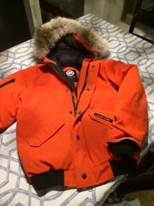 Canada Goose-kids L & XL, Authentique,