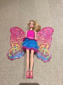 Barbie and the fairy secret doll