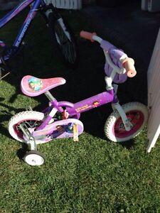 "Girls 12"" Dora bike"