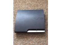 PS3 slim. spares or repair. £15.