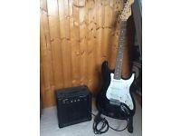 Harley Benton electric guitar set