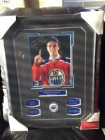 SIGNED with COA--CONNOR McDAVID!!!!