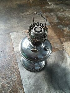 Vintage lamp & tins