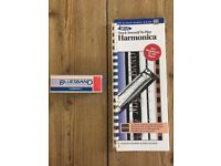 Hohner International BLUESBAND Harmonica in Key of C plus Alfred's Teach Yourself to Play Harmonica
