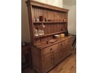 *Charity Sale* large antique Victorian pine dresser