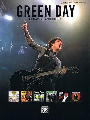 Green Day Guitar Tab Anthology Sheet Music Guitar Tablature Book NEW 000701720