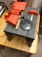 craftsman router table and 1 hp router