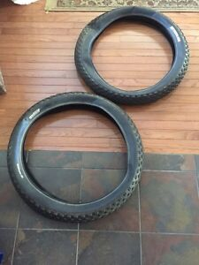 "Pair of 26x4"" Fat bike tires"