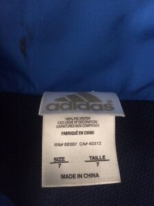 Boys Adidas Spring Jacket/Windsuit coat and Diadora jacket Kitchener / Waterloo Kitchener Area image 2