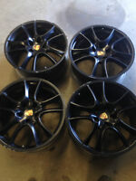 Used Genuine OEM Porsche Cayenne Rims With Sensors 21 inch. GTS