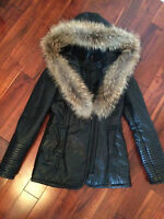 RUDSAK SMALL BLACK WINTER JACKET