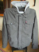 LEVI'S TRUCKER JACKET DETACHABLE HOODIE **WORN ONCE** MACY'S USA