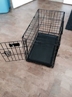"Dog crate like new (5 months old) 22"" x 13"" x 16"""