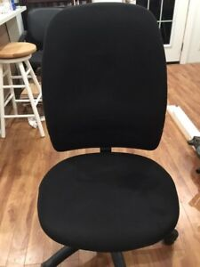 Office chair, footrest, 2 bins, FREE DELIVERY