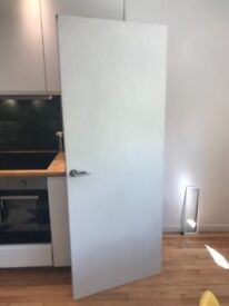 Free Plain Painted Timber Door - Good Condition