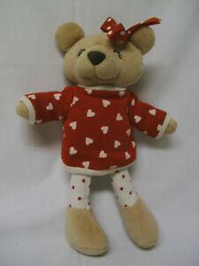 Stuffed Velour Bear    (Truro)